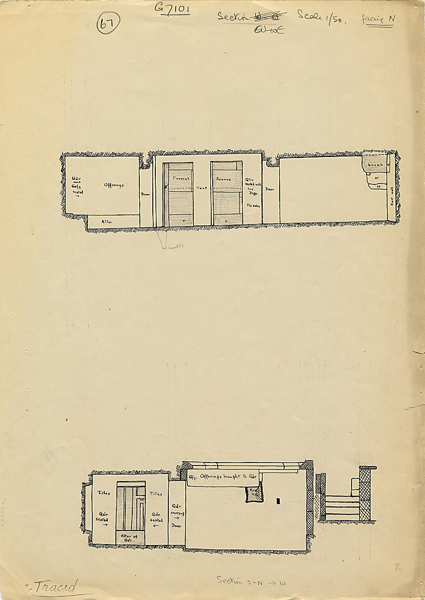 Maps and plans: G 7101, Section