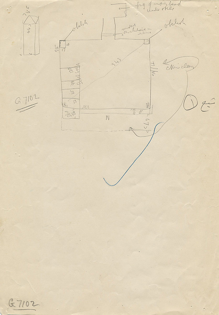 Maps and plans: G 7102, Plan