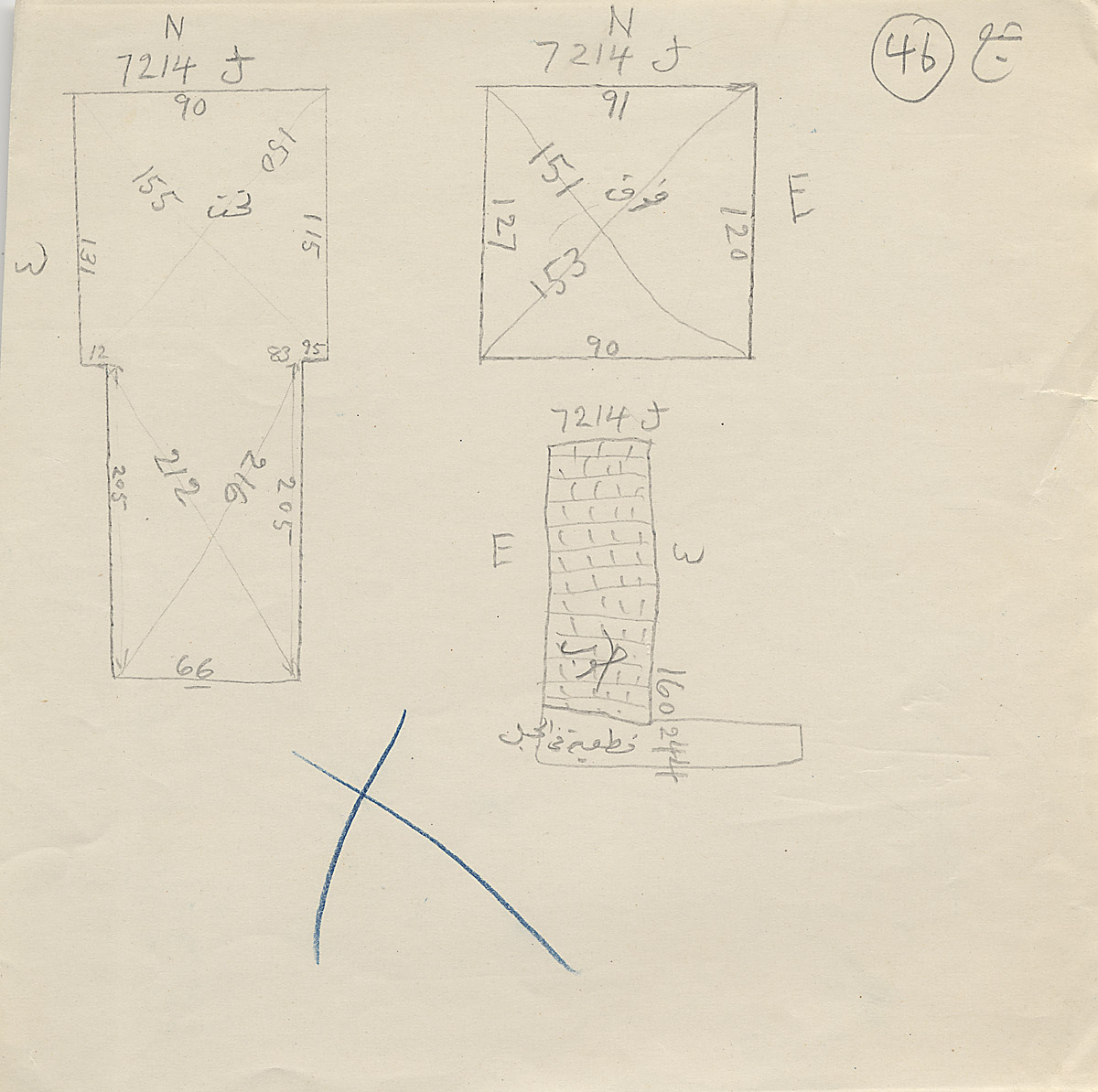 Maps and plans: G 7214, Shaft J