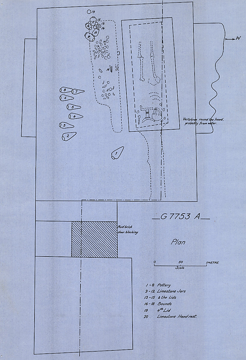 Maps and plans: G 7753, Shaft A