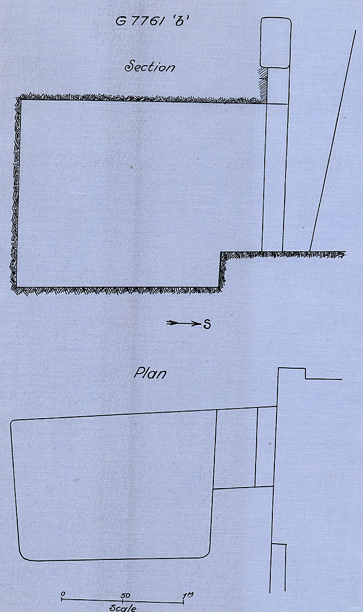 Maps and plans: G 7761, Chapel b