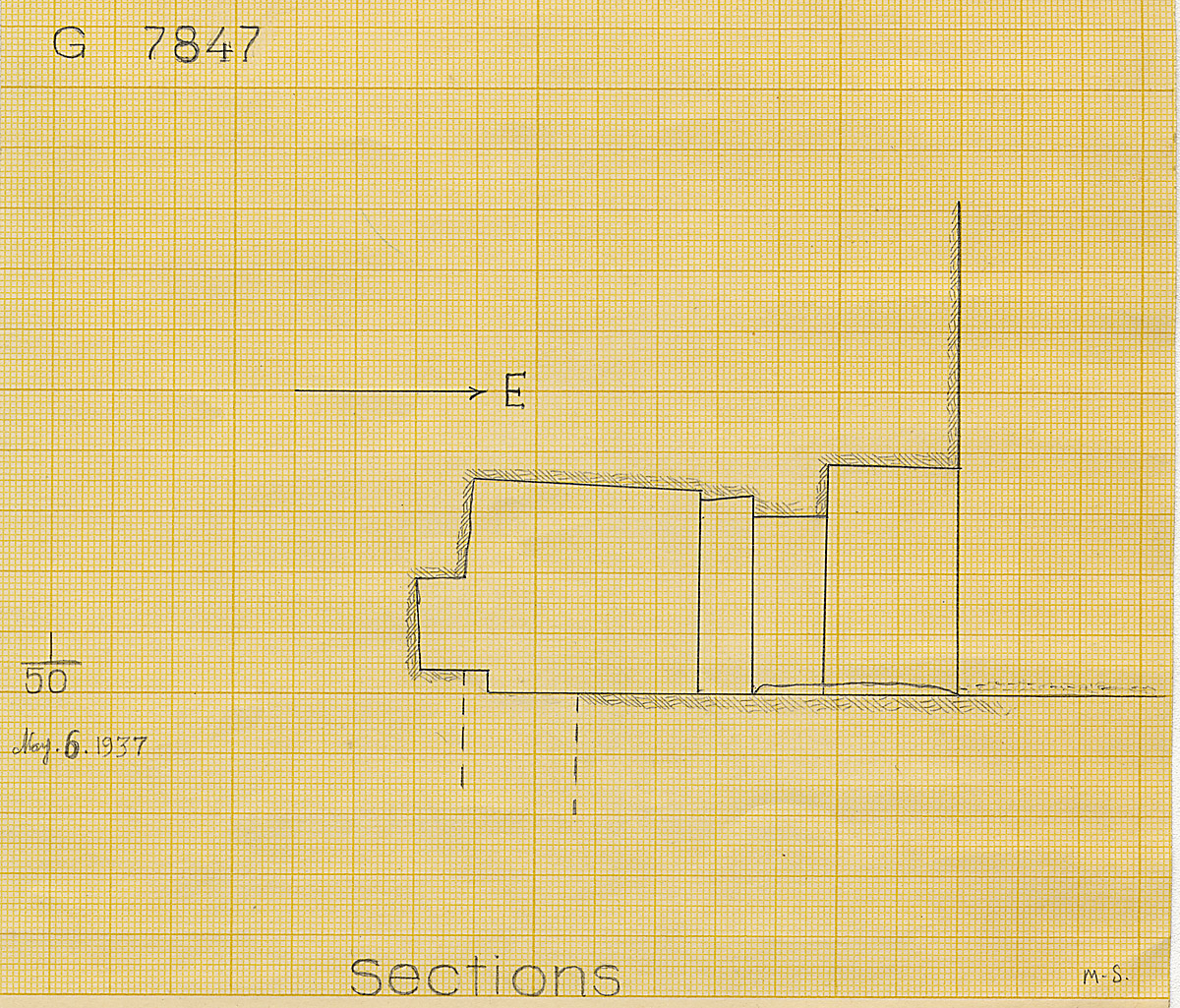 Maps and plans: G 7847, Section