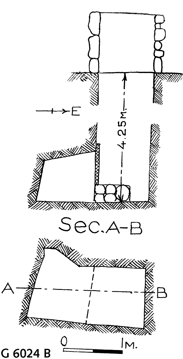 Maps and plans: G 6024, Shaft B