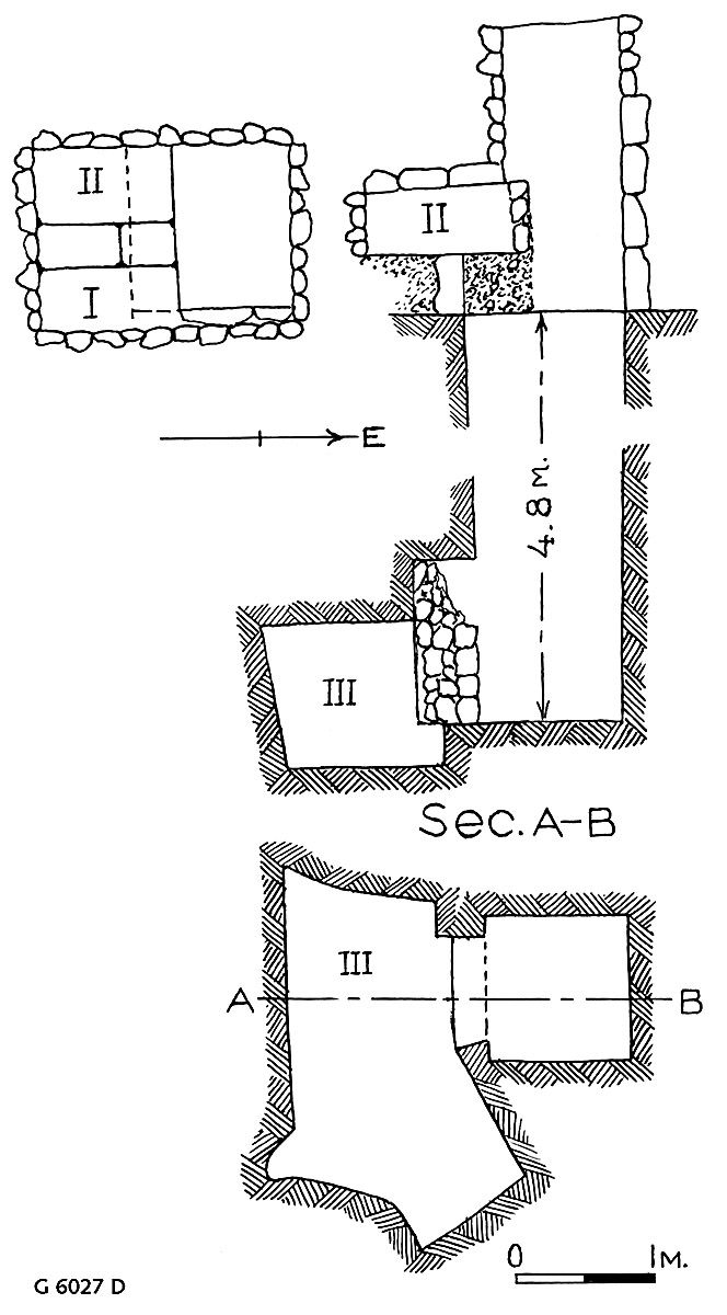 Maps and plans: G 6027, Shaft D