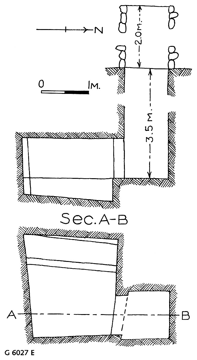 Maps and plans: G 6027, Shaft E