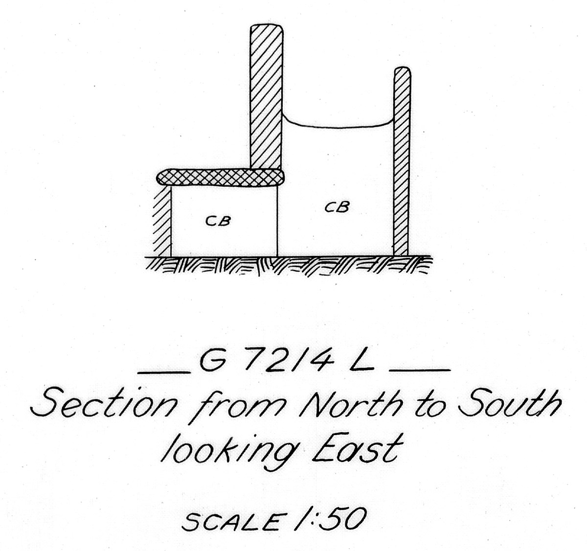 Maps and plans: G 7214, Shaft L