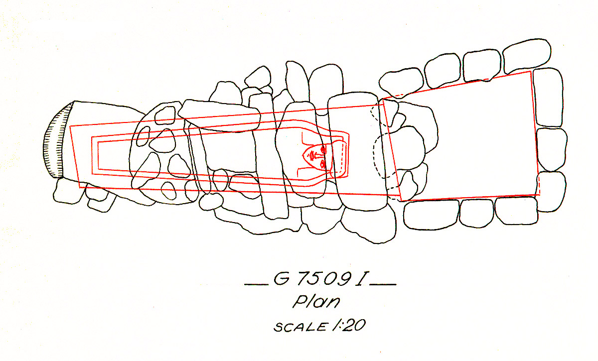 Maps and plans: G 7509, Shaft I