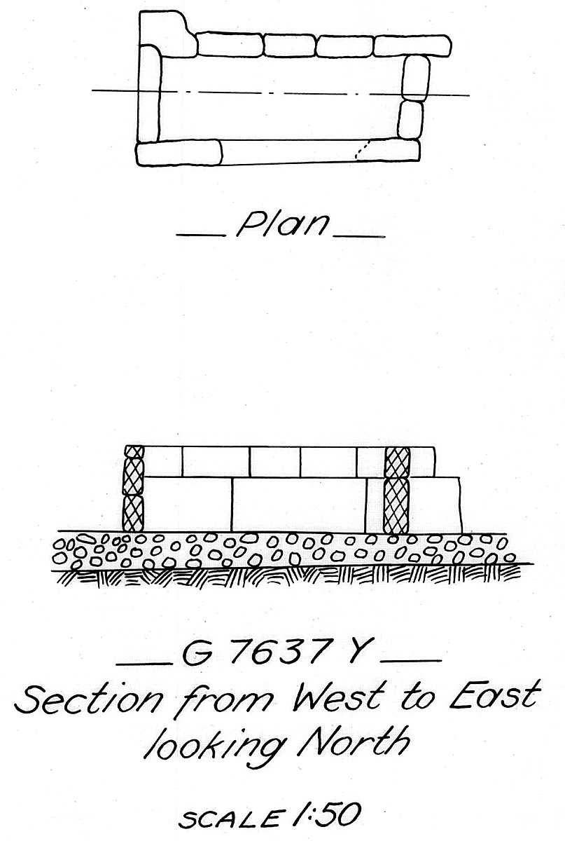 Maps and plans: G 7637, Shaft Y