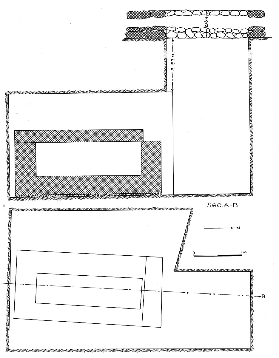 Maps and plans: G 7102, Shaft C
