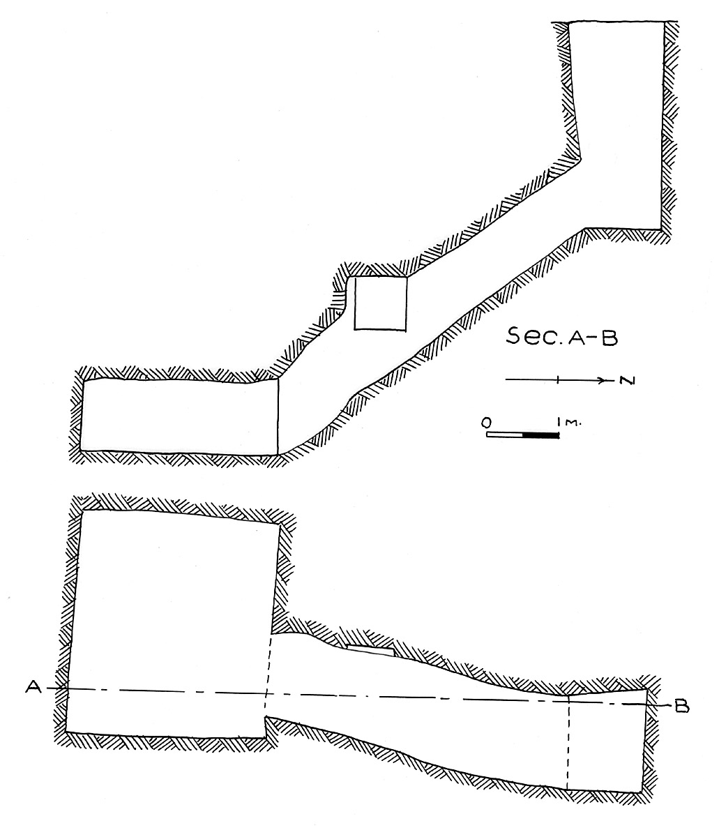Maps and plans: G 7215, Shaft E