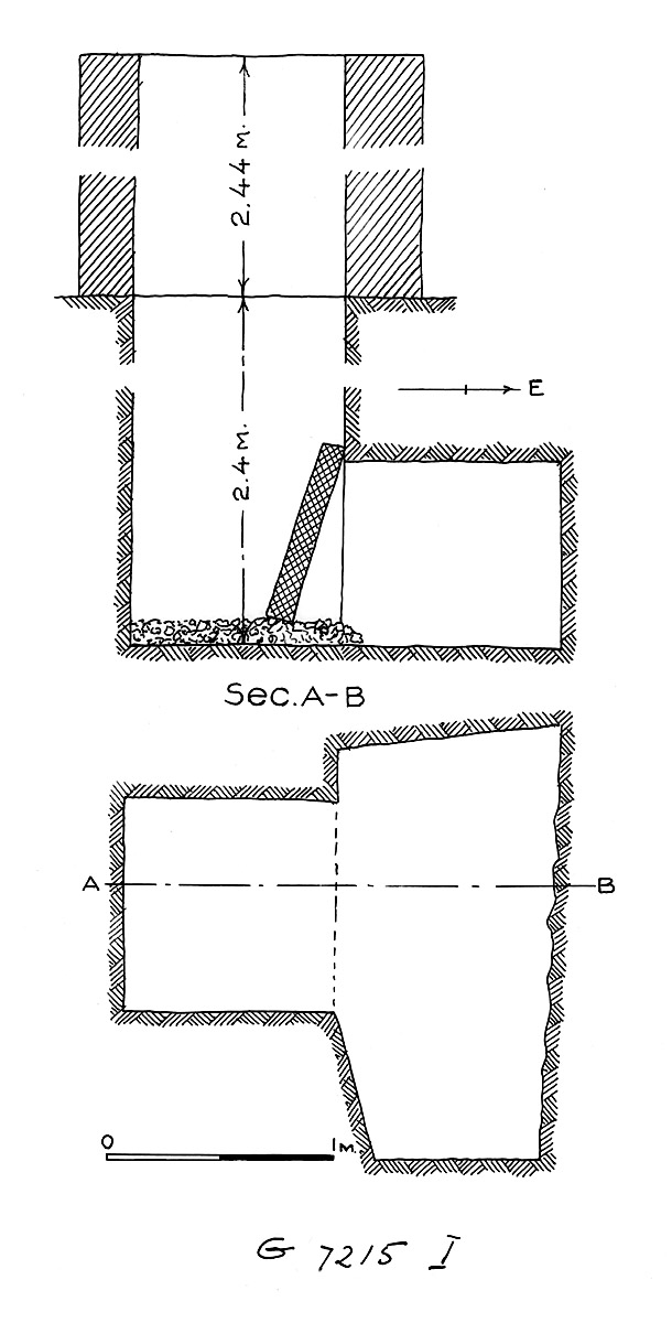 Maps and plans: G 7215, Shaft I