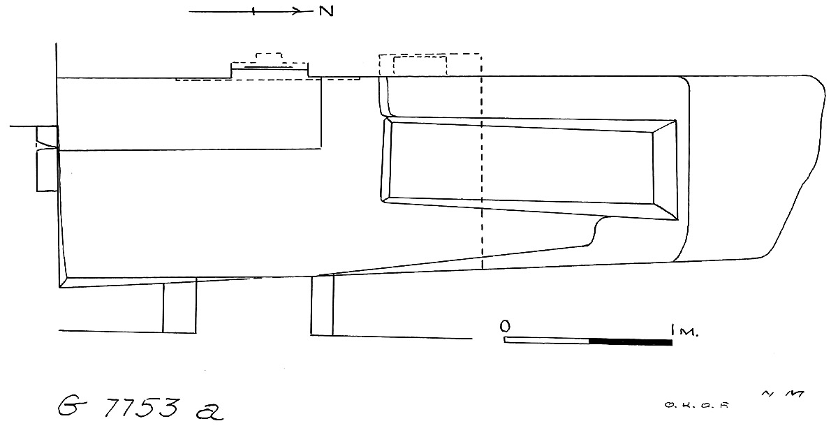 Maps and plans: G 7753, Chapel a