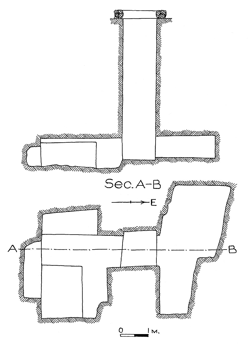 Maps and plans: G 7779, Shaft C