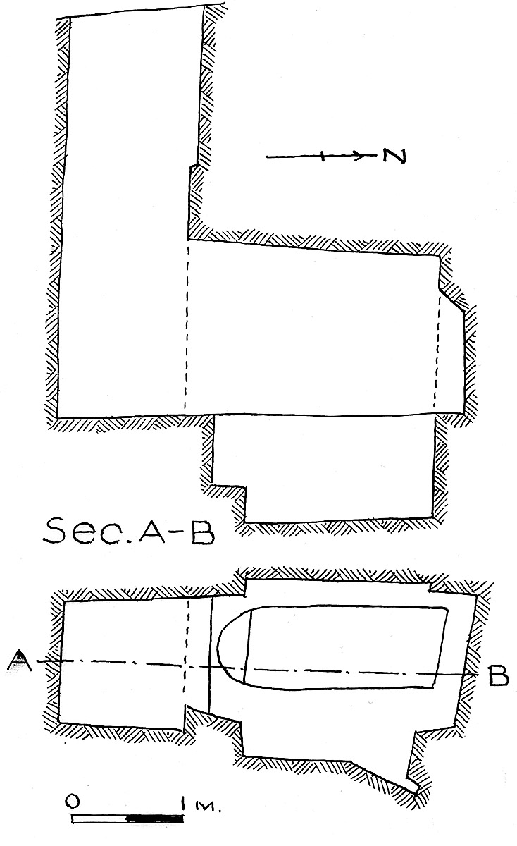 Maps and plans: G 7851, Shaft A