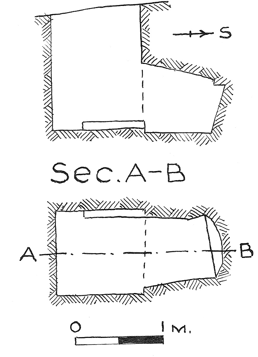 Maps and plans: G 7851, Shaft B