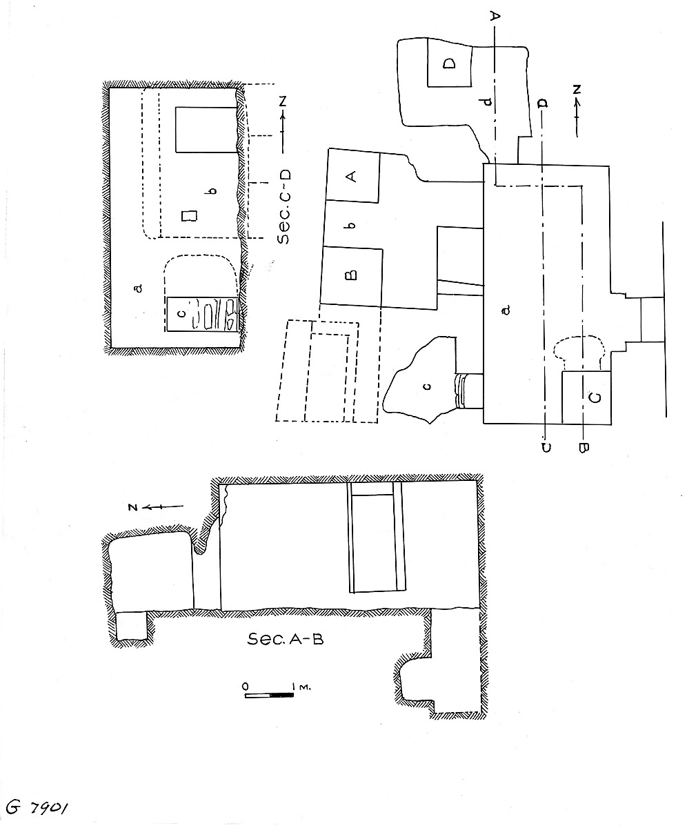 Maps and plans: G 7901, Plan and section