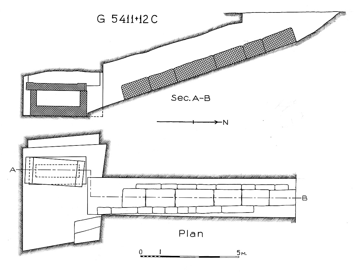 Maps and plans: G 5411, Shaft C