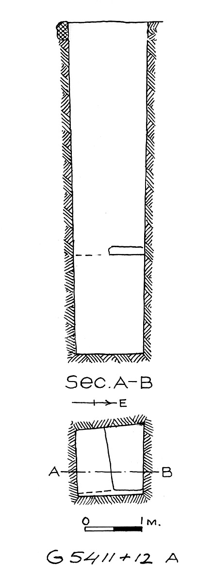 Maps and plans: G 5411, Shaft A