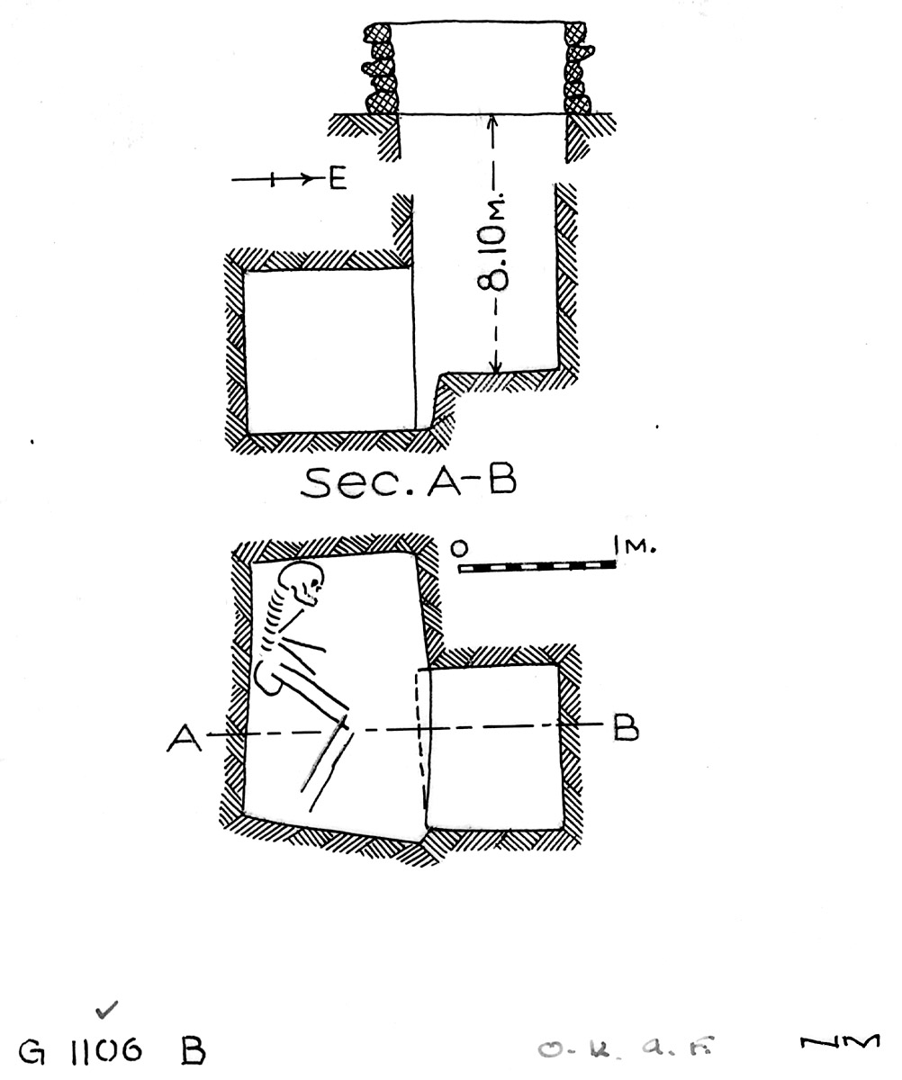 Maps and plans: G 1106, Shaft B