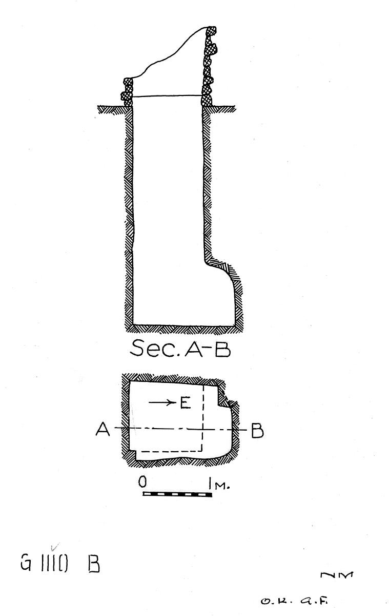 Maps and plans: G 1110, Shaft B