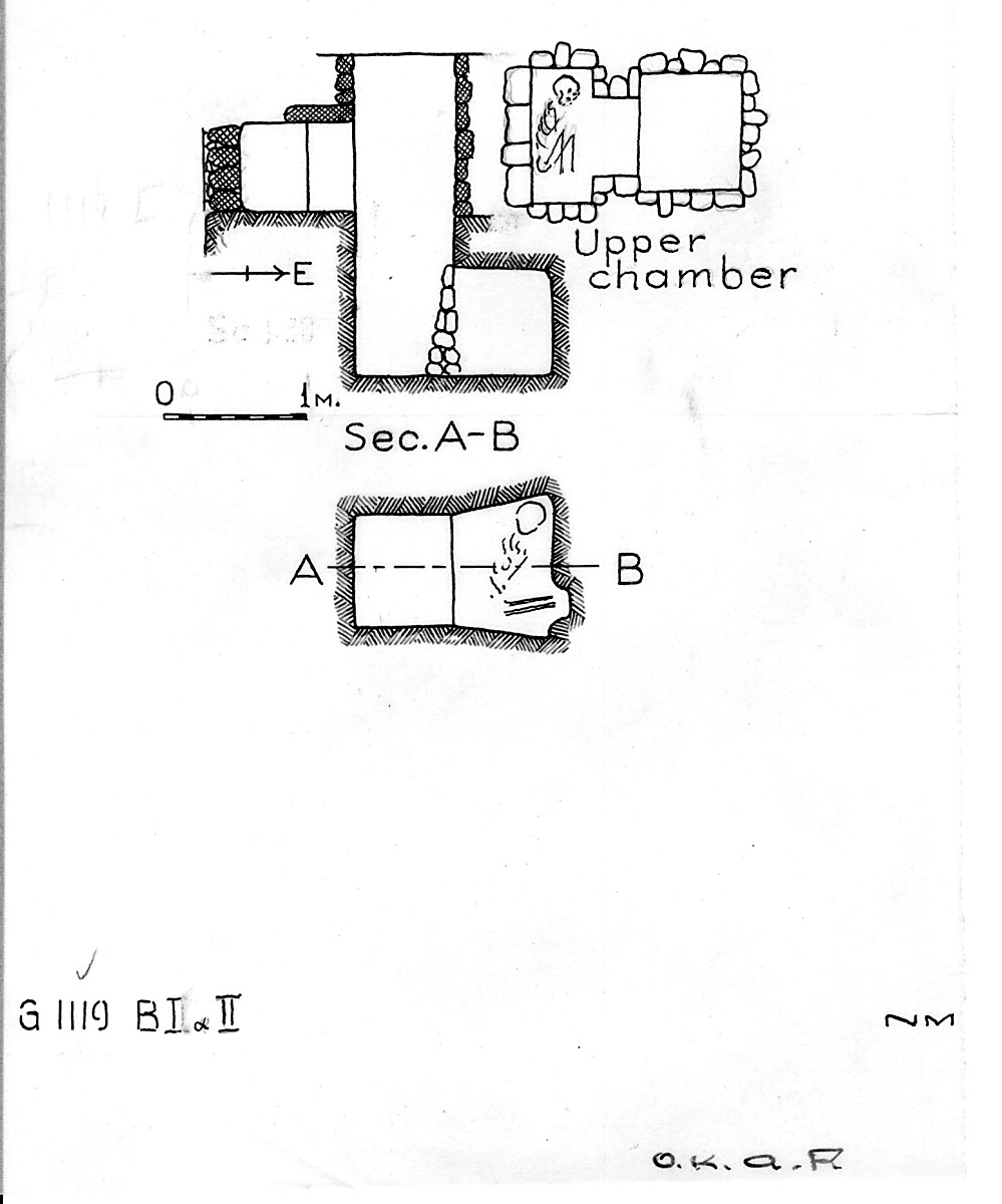 Maps and plans: G 1119, Shaft B