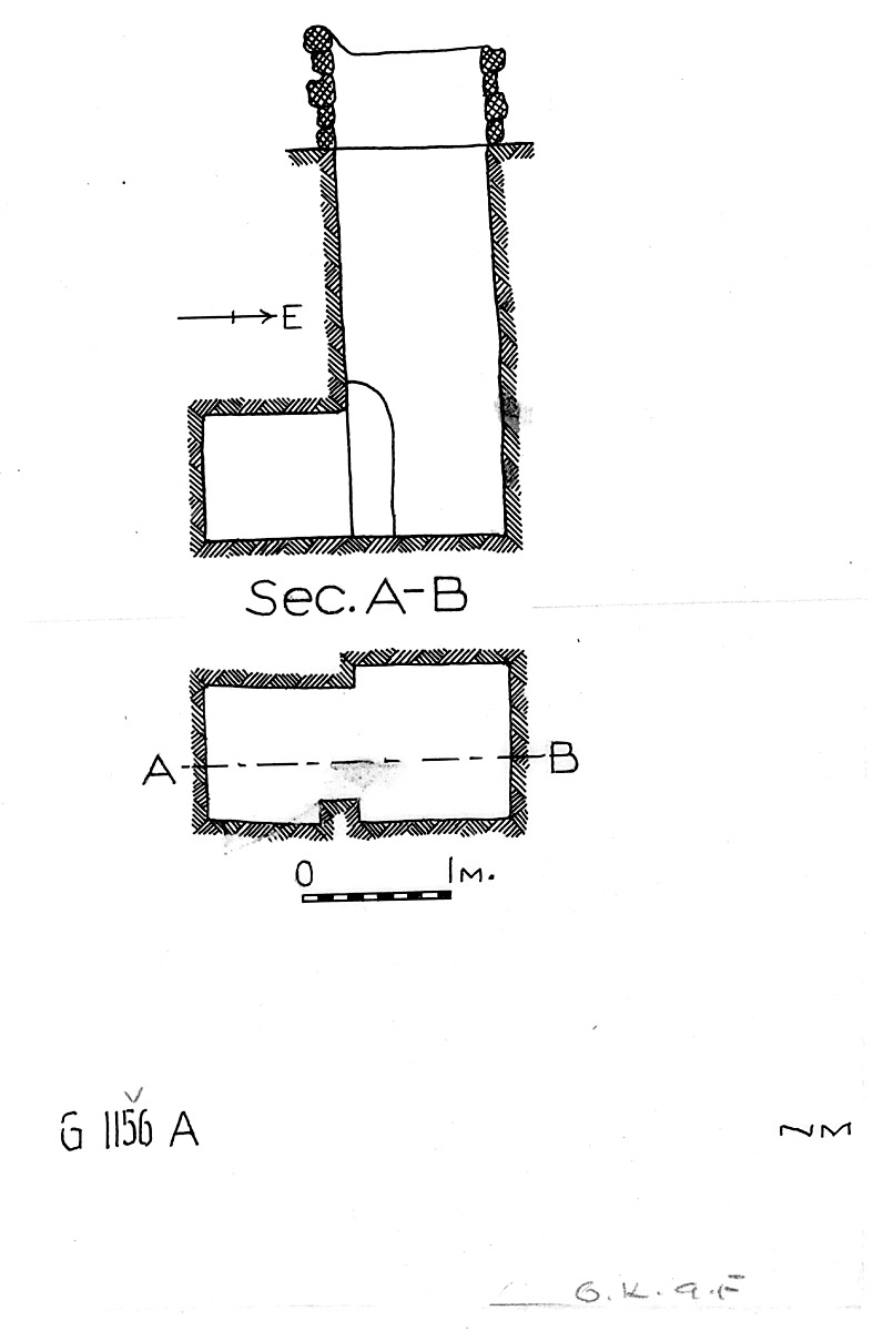 Maps and plans: G 1156, Shaft A