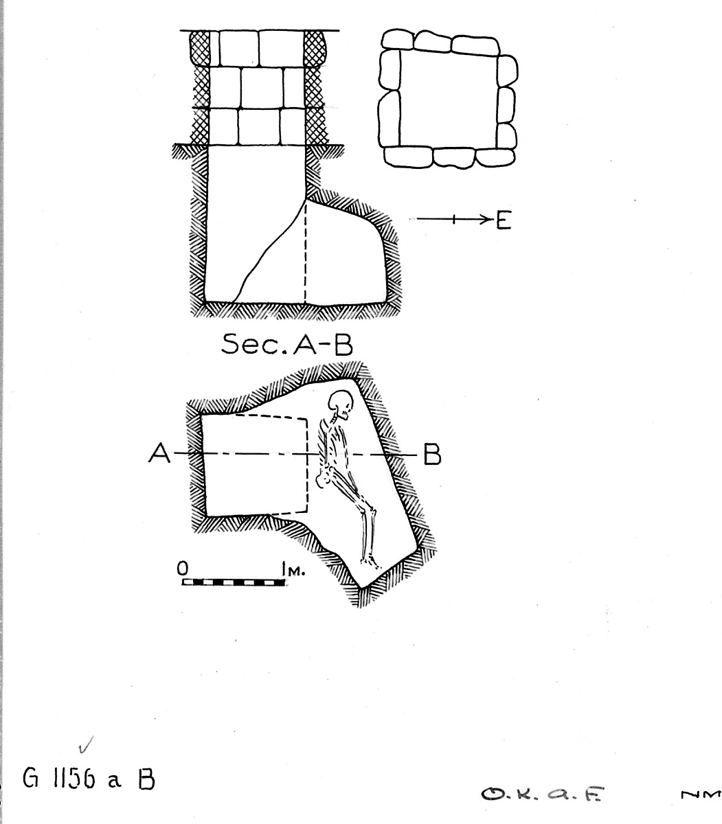Maps and plans: G 1156a, Shaft B