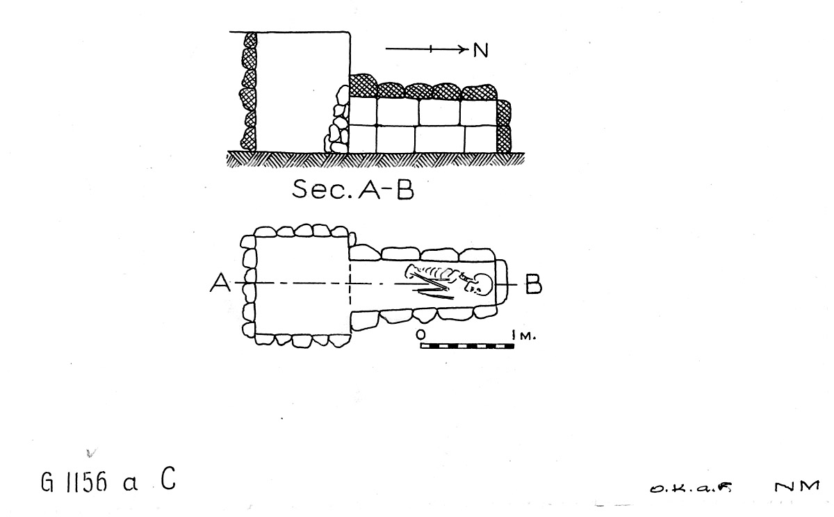 Maps and plans: G 1156a, Shaft C