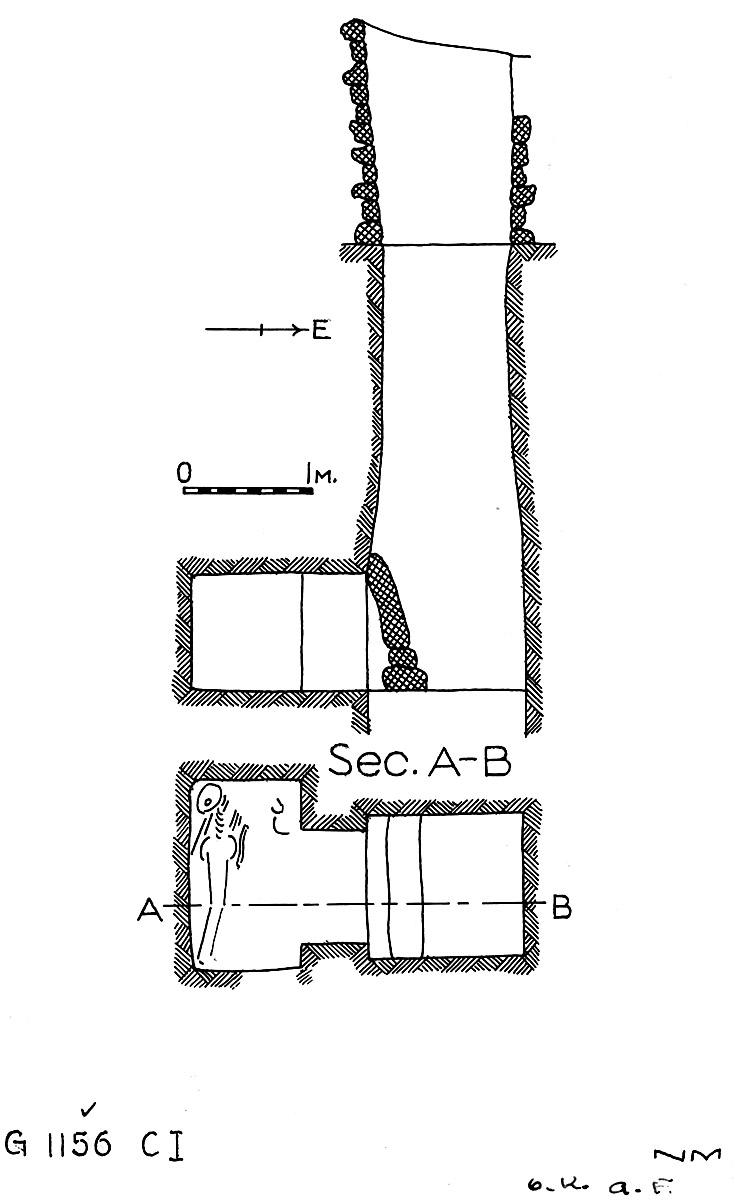 Maps and plans: G 1156, Shaft C (I)