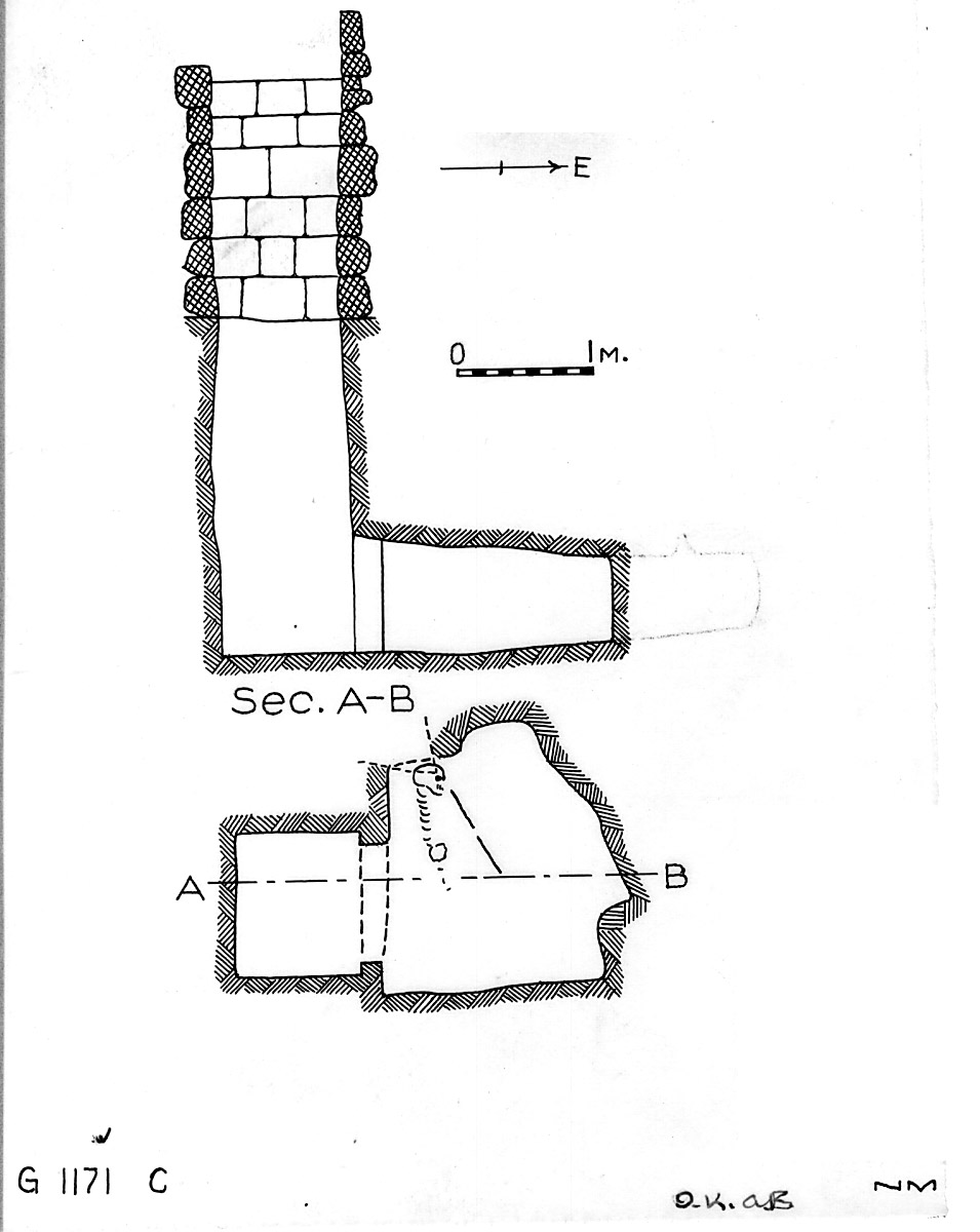 Maps and plans: G 1171, Shaft C