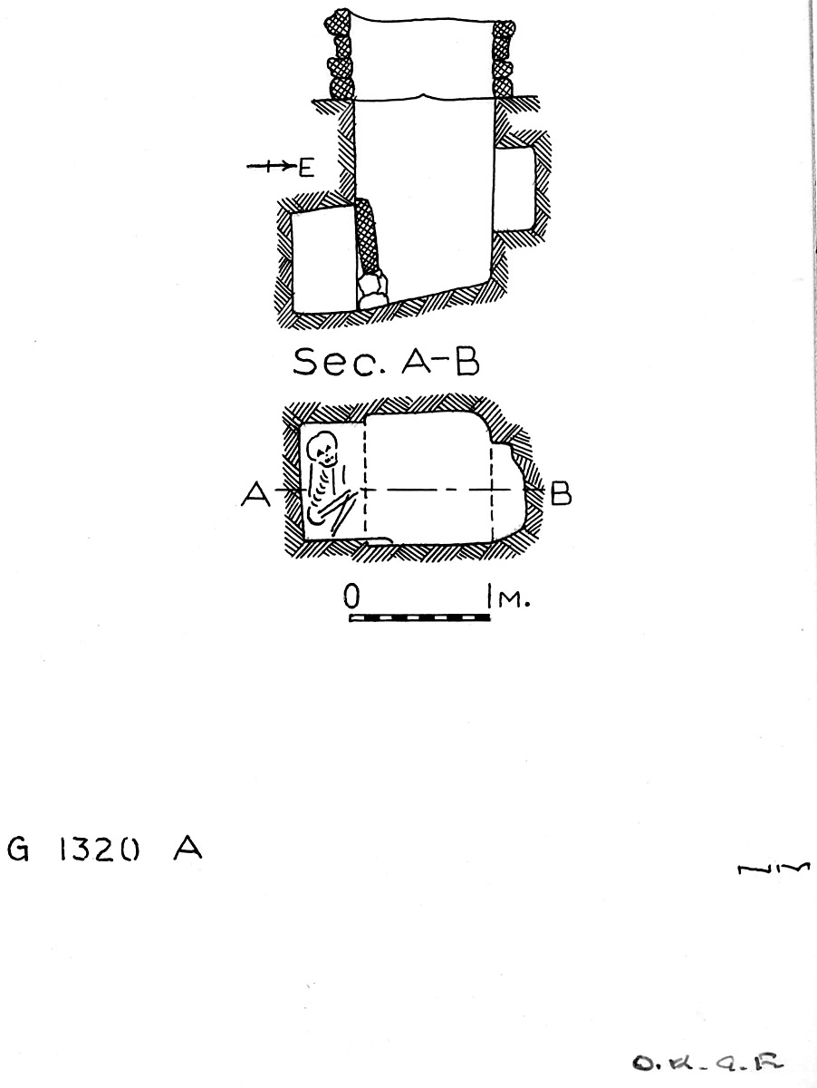 Maps and plans: G 1320, Shaft A
