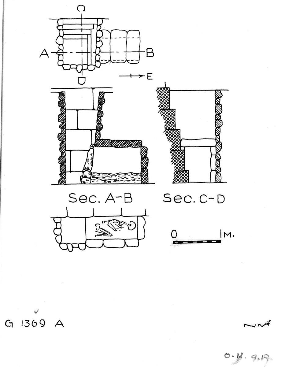 Maps and plans: G 1369, Shaft A