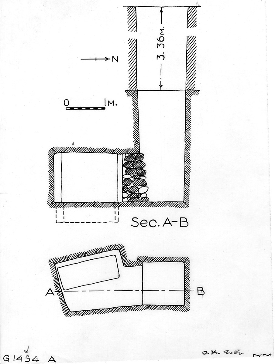Maps and plans: G 1454+1455, Shaft A