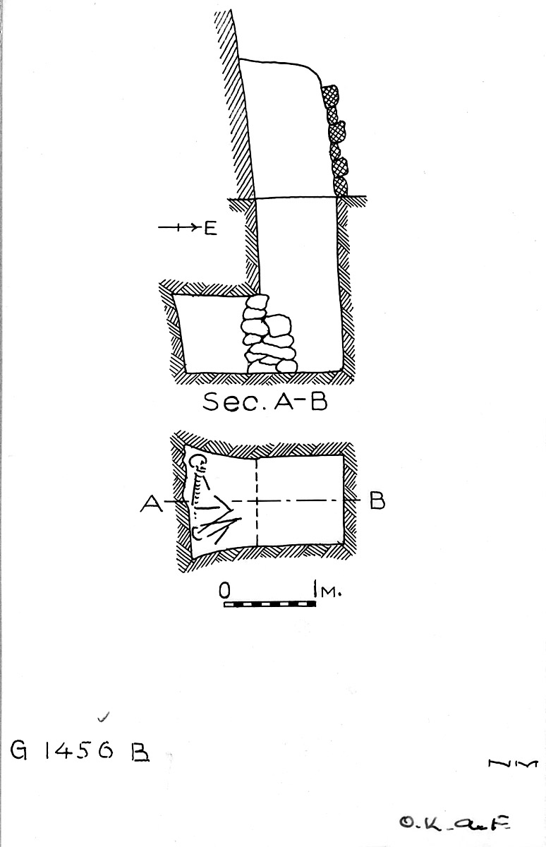 Maps and plans: G 1456, Shaft B
