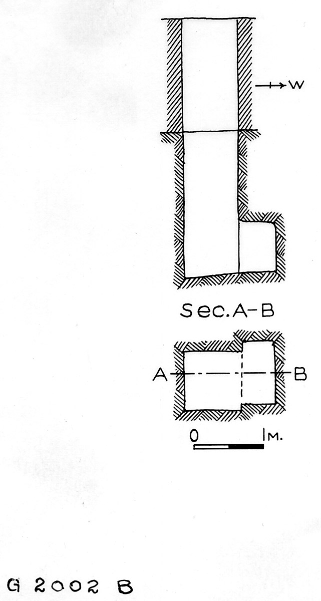 Maps and plans: G 2002, Shaft B