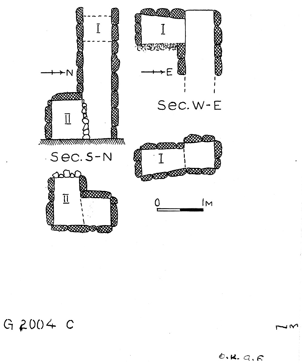 Maps and plans: G 2004, Shaft C