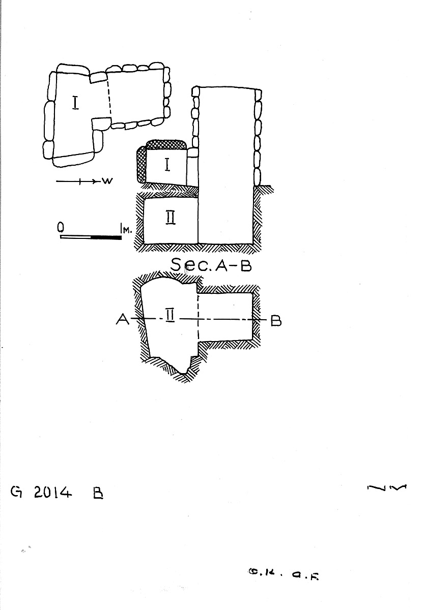 Maps and plans: G 2014, Shaft B