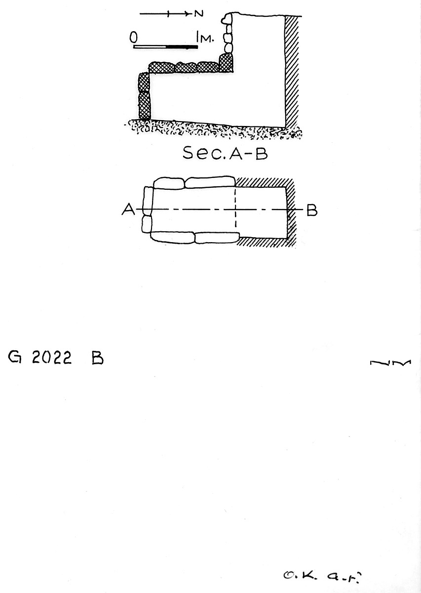 Maps and plans: G 2022, Shaft B