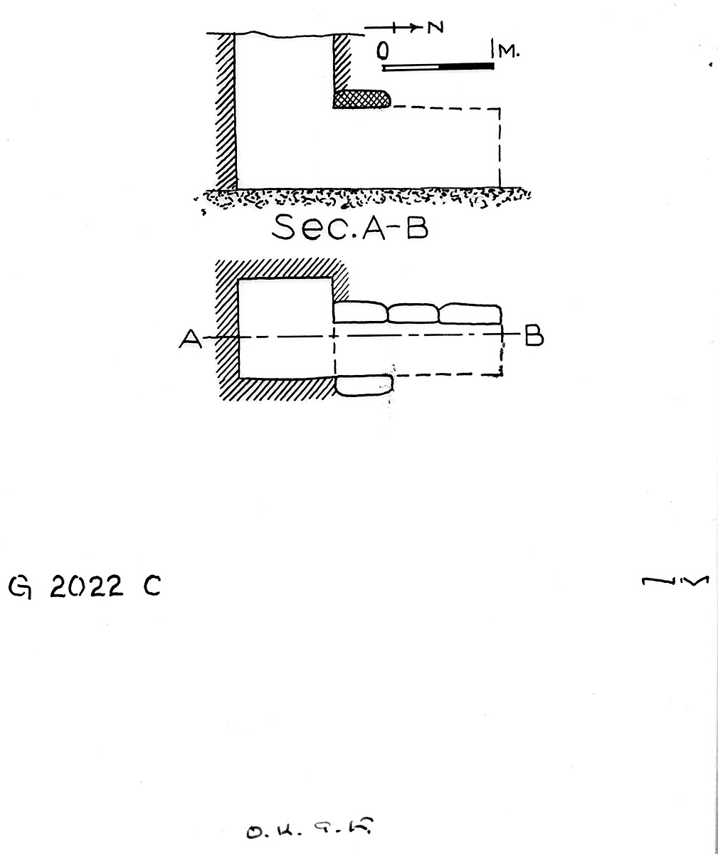 Maps and plans: G 2022, Shaft C