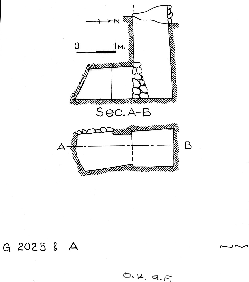 Maps and plans: G 2025b, Shaft A
