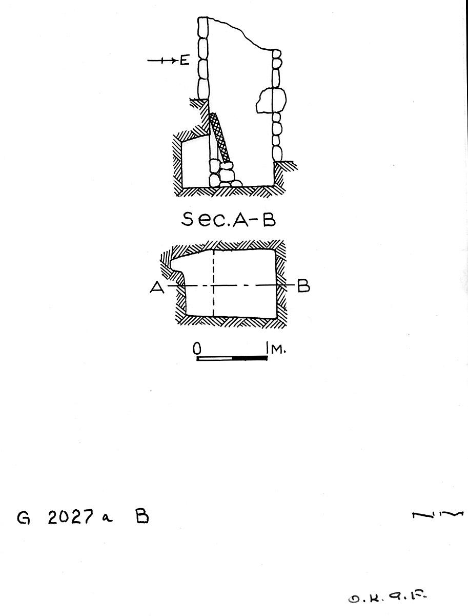 Maps and plans: G 2027a, Shaft B