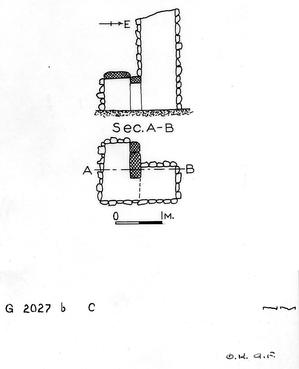 Maps and plans: G 2027b, Shaft C