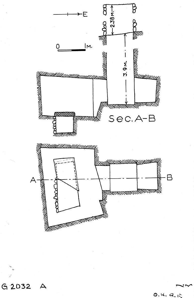Maps and plans: G 2032, Shaft A
