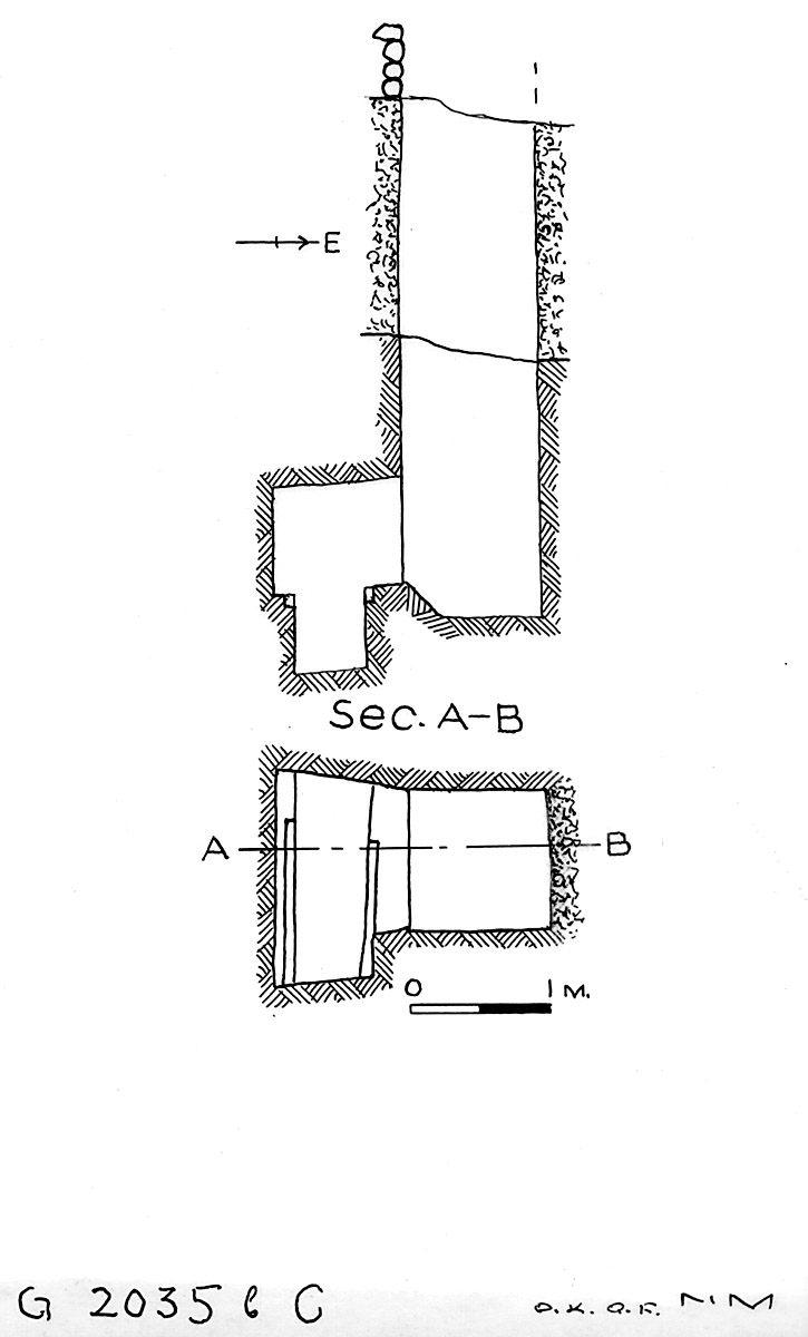 Maps and plans: G 2035b, Shaft C