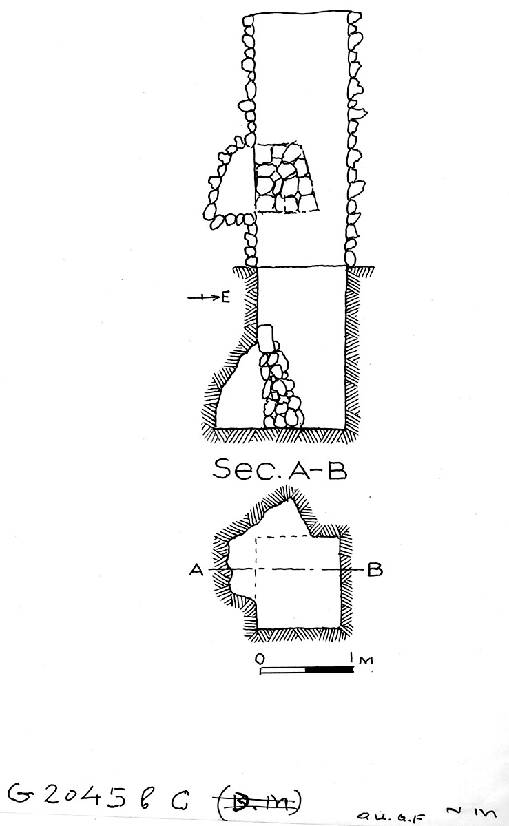 Maps and plans: G 2045b, Shaft C