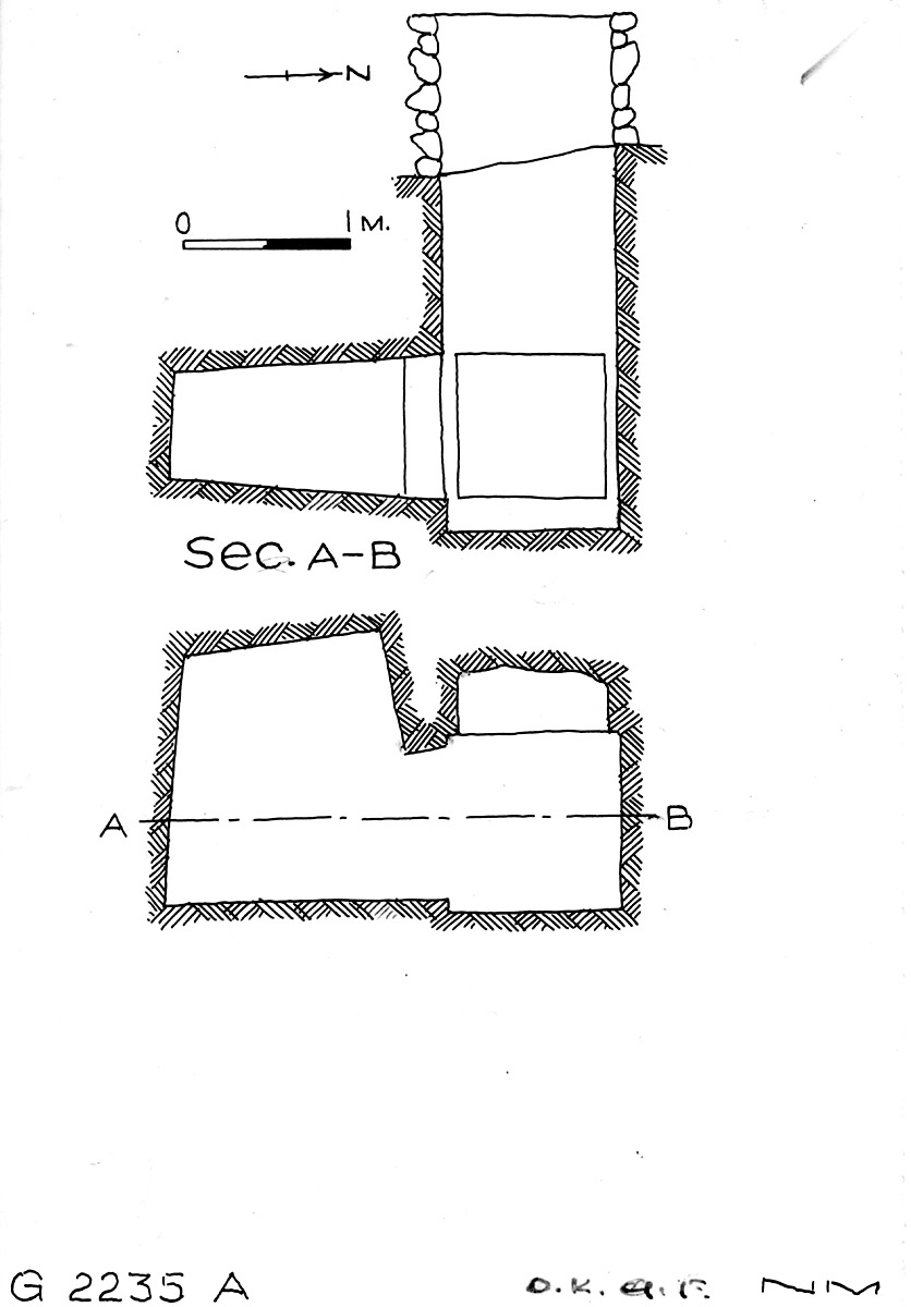 Maps and plans: G 2235, Shaft A