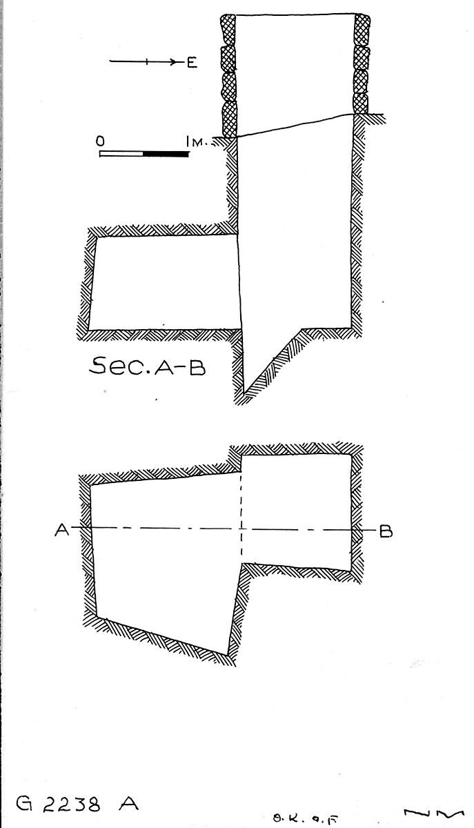 Maps and plans: G 2238, Shaft A