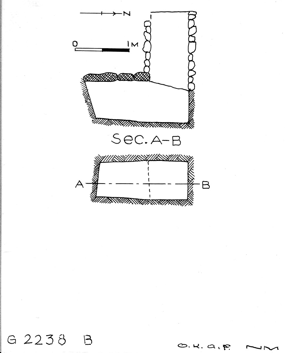 Maps and plans: G 2238, Shaft B