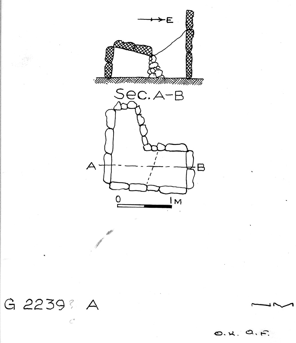 Maps and plans: G 2239c, Shaft A