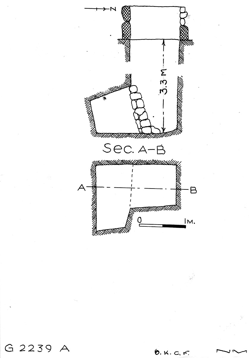 Maps and plans: G 2239, Shaft A